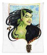 Holly Elf Tapestry
