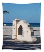 Hollywood Beach Wall In Color Tapestry