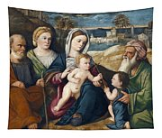 Holy Conversation Tapestry