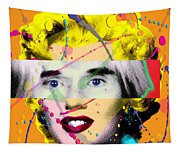 Homage To Warhol Tapestry