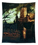 Home Of Darkness Tapestry
