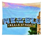 Home Of The Blues - Beale Street Tapestry