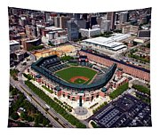 Home Of The Orioles - Camden Yards Tapestry