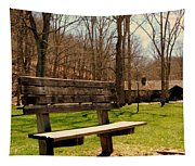 Hometown Series - Have A Seat Tapestry