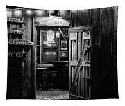 Hondos Bar In Luckenbach Texas Tapestry