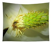 Honey Bees And Magnolia Three Tapestry