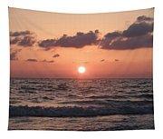 Honey Moon Island Sunset Tapestry