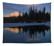 Hood Alpenglow Tapestry