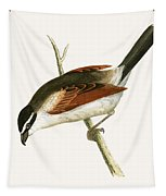 Hooded Shrike Tapestry