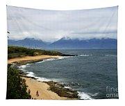 Hookipa Beach Maui North Shore Hawaii Tapestry