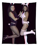 Hoppy Easter - Use Red-cyan 3d Glasses Tapestry