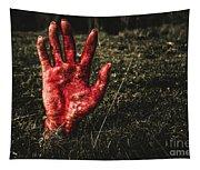 Horror Resurrection Tapestry