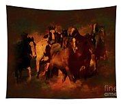 Horses Paintings 34b Tapestry