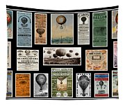 Hot Air Balloon Posters Tapestry