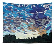 Hot August Sunrise Tapestry