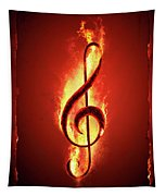 Hot Music Tapestry