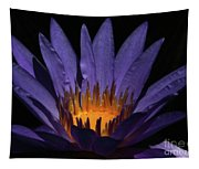 Hot Purple Water Lily Tapestry