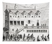 Hotel Of The Chamber Of Accounts In The Tapestry