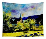 Hour Village Belgium Tapestry