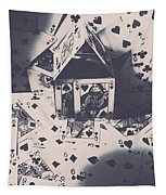House Of Cards Tapestry