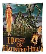 House On Haunted Hill 1958 Tapestry
