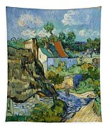 Houses In Auvers Tapestry