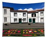 Houses In The Azores Tapestry