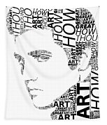 How Great Thou Art Elvis Wordart Tapestry