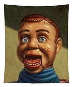 Howdy Doody Dodged A Bullet Tapestry