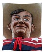 Howdy Folks - Big Tex Portrait 02 Tapestry