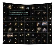 Hubble Galaxy Poster Tapestry