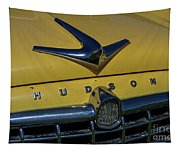 Hudson Hood Ornament And Logo Tapestry