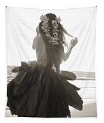 Hula Girl Tapestry