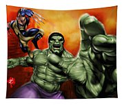 Hulk Tapestry
