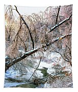 Humber River Winter 3 Tapestry