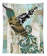 Hummingbird Batik Tapestry
