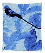 Hummingbird Urban Street Art Tapestry