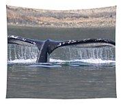 Humpback Whale Fluke Tapestry