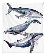 Humpback Whales Tapestry