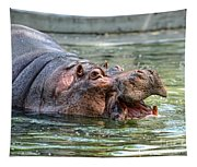 Hungry Hungry Hippo Tapestry