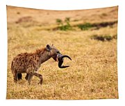 Hungry Hyena Tapestry