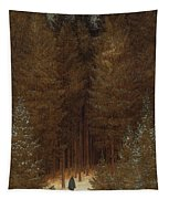 Hunter In The Forest  Tapestry