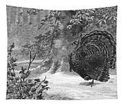 Hunting: Wild Turkey, 1886 Tapestry