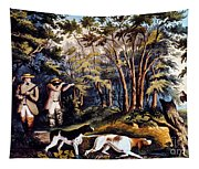 Hunting: Woodcock, 1852 Tapestry