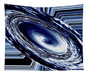 Hurricane In Space Abstract Tapestry