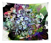 Hydrangea Abstract Tapestry