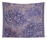 Hydrangea Blossom Abstract 2 Tapestry