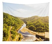 Hydropower Valley River Tapestry