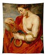 Hygeia - Goddess Of Health Tapestry