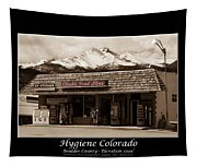 Hygiene Colorado Bw Fine Art Photography Print Tapestry